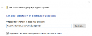 OutlookChangeNotifierAddIn.dll.zip uitpakken